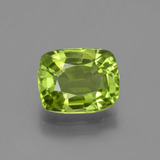 thumb image of 2.4ct Cushion-Cut Lively Green Peridot (ID: 447132)