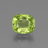 thumb image of 2ct Cushion-Cut Lively Green Peridot (ID: 447136)
