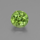 thumb image of 2.7ct Cushion-Cut Lively Green Peridot (ID: 447177)