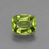 thumb image of 2.5ct Cushion-Cut Lively Green Peridot (ID: 447192)