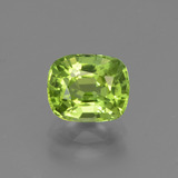 thumb image of 2ct Cushion-Cut Lively Green Peridot (ID: 447197)