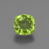 thumb image of 2.1ct Cushion-Cut Lively Green Peridot (ID: 447515)