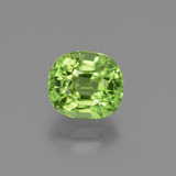 thumb image of 2.5ct Oval Facet Lively Green Peridot (ID: 447540)