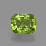 thumb image of 2.3ct Cushion-Cut Lively Green Peridot (ID: 447561)