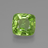 thumb image of 2.1ct Cushion-Cut Lively Green Peridot (ID: 447586)