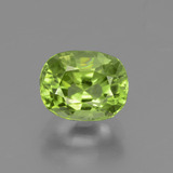 thumb image of 2.3ct Oval Facet Lively Green Peridot (ID: 447594)