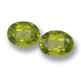 thumb image of 3.8ct Oval Facet Lively Green Peridot (ID: 461423)