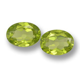 thumb image of 2.8ct Oval Facet Lively Green Peridot (ID: 461425)