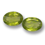 thumb image of 3ct Oval Facet Lively Green Peridot (ID: 461426)