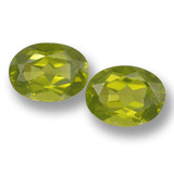 thumb image of 3.7ct Oval Facet Lively Green Peridot (ID: 461427)