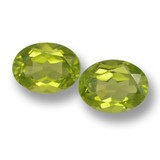 thumb image of 3.4ct Oval Facet Lively Green Peridot (ID: 461428)