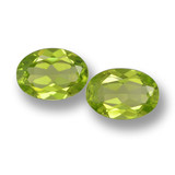 thumb image of 3ct Oval Facet Lively Green Peridot (ID: 461433)