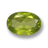 thumb image of 1.7ct Oval Facet Lively Green Peridot (ID: 461452)