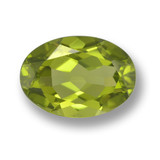 thumb image of 1.9ct Oval Facet Lively Green Peridot (ID: 461457)