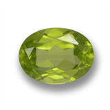 thumb image of 1.8ct Oval Facet Lively Green Peridot (ID: 461520)