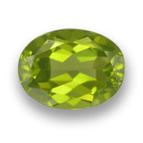 thumb image of 1.9ct Oval Facet Lively Green Peridot (ID: 461556)