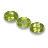 thumb image of 2.4ct Oval Facet Lively Green Peridot (ID: 461622)