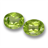 thumb image of 3.3ct Oval Facet Lively Green Peridot (ID: 461663)