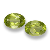 thumb image of 1.7ct Oval Facet Lively Green Peridot (ID: 461699)