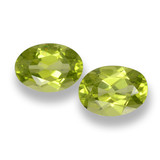 thumb image of 1.7ct Oval Facet Lively Green Peridot (ID: 461705)