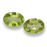 thumb image of 1.5ct Oval Facet Lively Green Peridot (ID: 461708)