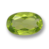 thumb image of 1.8ct Oval Facet Lively Green Peridot (ID: 461727)