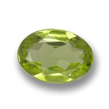 thumb image of 0.6ct Oval Facet Lively Green Peridot (ID: 461798)