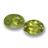 thumb image of 1.7ct Oval Facet Lively Green Peridot (ID: 461802)