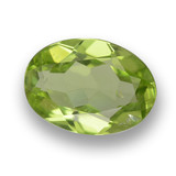 thumb image of 0.7ct Oval Facet Lively Green Peridot (ID: 461813)