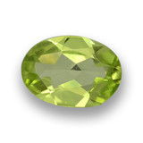 thumb image of 0.6ct Oval Facet Lively Green Peridot (ID: 461817)