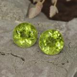 thumb image of 1ct Round Facet Lively Green Peridot (ID: 468025)