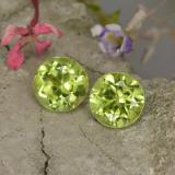 thumb image of 1ct Round Facet Lively Green Peridot (ID: 468027)