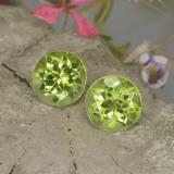 thumb image of 1ct Round Facet Lively Green Peridot (ID: 468029)