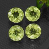 thumb image of 1.7ct Round Facet Lively Green Peridot (ID: 468961)