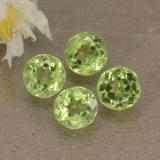 thumb image of 1.8ct Round Facet Lively Green Peridot (ID: 469041)