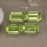 thumb image of 2ct Octagon Step Cut Lively Green Peridot (ID: 475124)