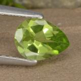 thumb image of 0.9ct Pear Facet Lively Green Peridot (ID: 477176)