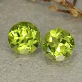 thumb image of 2.7ct Round Facet Lively Green Peridot (ID: 480568)