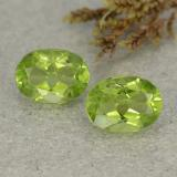 thumb image of 2.9ct Oval Facet Lively Green Peridot (ID: 484233)