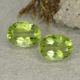 thumb image of 2.7ct Oval Facet Lively Green Peridot (ID: 484235)