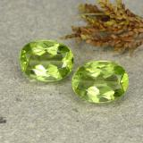 thumb image of 2.7ct Oval Facet Lively Green Peridot (ID: 484414)