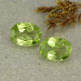 thumb image of 2.4ct Oval Facet Lively Green Peridot (ID: 484415)