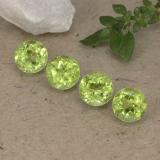 thumb image of 0.5ct Round Facet Lively Green Peridot (ID: 489436)