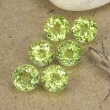 thumb image of 0.4ct Rund Facettenschliff Light Lively Green Peridot (ID: 489715)