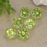 thumb image of 0.5ct Round Facet Lively Green Peridot (ID: 489725)