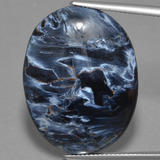 thumb image of 23.8ct Oval Cabochon Multicolor Pietersite (ID: 447897)
