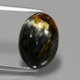 thumb image of 4.4ct Oval Cabochon Multicolor Pietersite (ID: 448061)