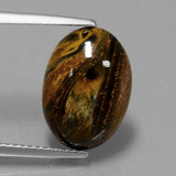 thumb image of 4ct Oval Cabochon Multicolor Pietersite (ID: 448062)