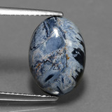 thumb image of 4.2ct Oval Cabochon Multicolor Pietersite (ID: 448086)