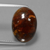 thumb image of 6.2ct Oval Cabochon Multicolor Pietersite (ID: 448132)